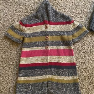 Tea Collection Nordstrom Stripe cotton cardigan